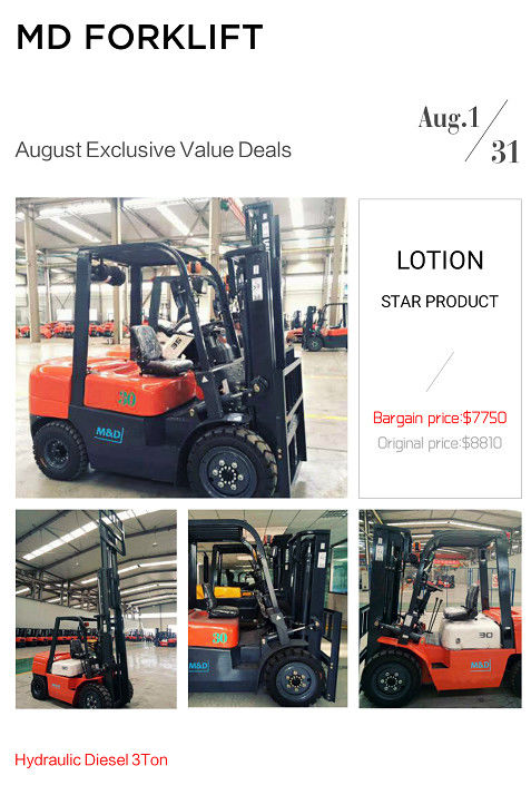 3T & 3.5T Hydraulic Diesel Forklfit Truck,Hot August Promotion, Cool All Summer