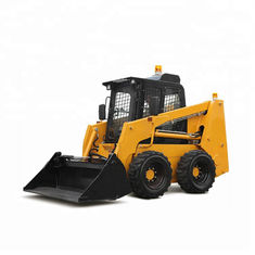 Good Quality Port Forklifts & EPA Engine Skid Steer Loader Hydraulics Quick Coupler Wheel 0.5m3 Bucket Capacity on sale