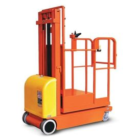 Good Quality Port Forklifts & Safety Brackets Electric Aerial Order Picker Forklift Customized Color on sale