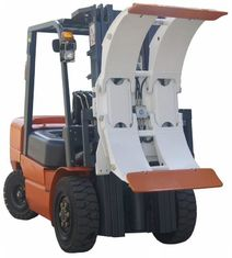 Good Quality Port Forklifts & White Forklift Truck Attachments Paper Roll Clamp With High Performance Hose on sale