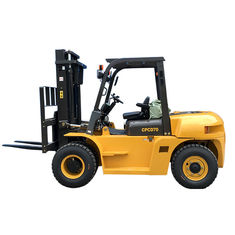 Mining Enterprises Sit Down Counterbalanced Forklift , 7 Ton Heavy Duty Forklift