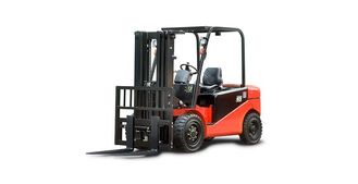 J Series 4.0 - 5.0 Ton Electric Powered Forklift , Four Wheel Electric Stacker Truck