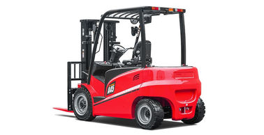 Battery Fast Charged 4 Wheel Forklift , A Series Electric Warehouse Forklift