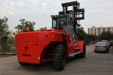 Customised Color 45 Ton Port Forklifts , Double / Three Mast Forklift