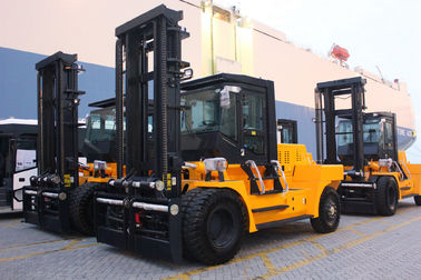 Variable Speed Control 15 Ton Forklift , Energy Saving Engine Diesel Powered Indoor Outdoor Forklift