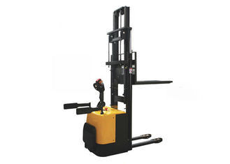 Double Lift Cylinder High Lift Pallet Stacker 3500mm Lifting Height Safe Operation