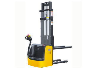 Walking Type Electric Pallet Jack Stacker AC Control Medium Lifting Storage