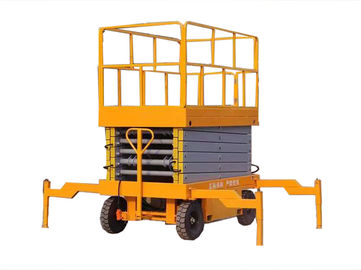 500kg Aerial Work Platform 2.2kw , Height 20 Meters Heavy Duty Lift Table