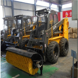 Heavy Equipment Off Road Forklift Bucket Capacity 0.55m3 3500Kg Machine Weight