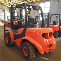 1800Kg Mini All Rough Terrain Lift Truck Articulated Forklift 1 Year Warranty