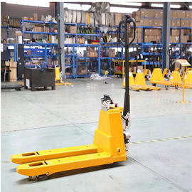 Capacity 1500Kg Electric Pallet Truck With Max Lifting 200mm Fork Length 1220mm