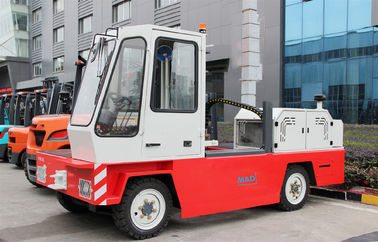 Diesel Power Type 10 Ton Port Forklifts With Fuel Tank Capacity 260L 3600mm Lift Height