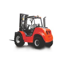 2.5 Ton 4wd Off Road Rough Terrain Forklift With Lift Height 3000mm