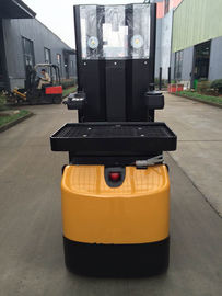 Counter Balance Electric Pallet Truck 1500kg With Battery Capacity