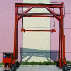 25mm/S Falling Speed Hydraulic Truck Crane / Mobile Container Crane 37kw Engine Power