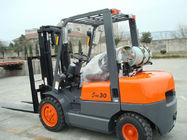 China 500mm Load Center Gasoline LPG Forklift With Operator Type Driver Seat company