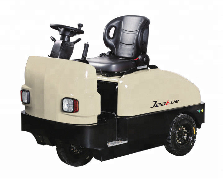2 Ton / 6 Ton Electric Tug Tow Tractor Waterproof Low Gravity Center Seated Type