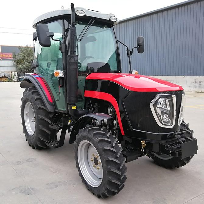 China Factory Supply 210HP 4WD Farm Machine Compact Lawn
