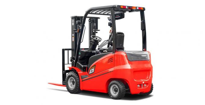 A Series 1.0 - 3.5 Ton Electric Forklift Truck Battery Fast Charged High Stability
