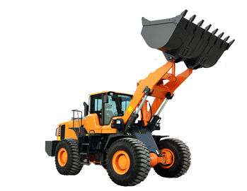 Back Loader Truck Backhoe Wheel Loader Customised Color For Building