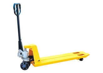 Super Narrow 2 Ton Hand Pallet Truck 160mm Steering Wheel Customized Design