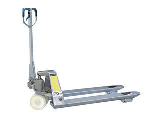 Galvanized Manual Pallet Truck Corrosion Resistance Simple Design CE Certification