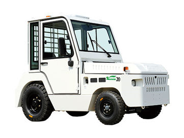 China Industrial Tug Tow Tractor , 4 Wheel Platform Truck For Distribution Center factory