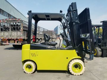 2 Stages / 3 Stages 4T Electric Forklift Truck Full AC Power With Side Shifter