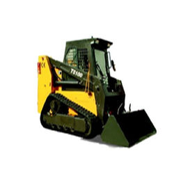 TS100 100Hp Small Front End Loader Hydraulic Pump Skid Loaders 4280Kg Machine Weight