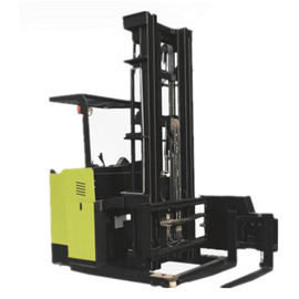 AC Motor Reach Stacker Forklift With Standing Posture 3783 X 1445 X 3162mm