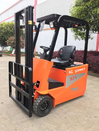 High Efficiency Three Wheeled Small Electric Forklift Energy Saving Environmental Protection
