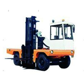 China Multi Direction Operation Port Forklifts 3 Ton Electric Side Lift Loader factory
