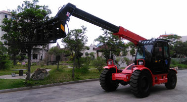 Hydraulic Power Steering Reach Truck Forklift Telescopic Boom Wheel Loader