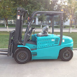 6 Ton AC Electric Forklift Truck Battery Power Type With Lifting Height 6000mm