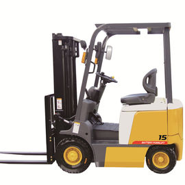 China 3000mm Lifting Height  AC Motor Power 1.5ton Electric Forklift Truck factory